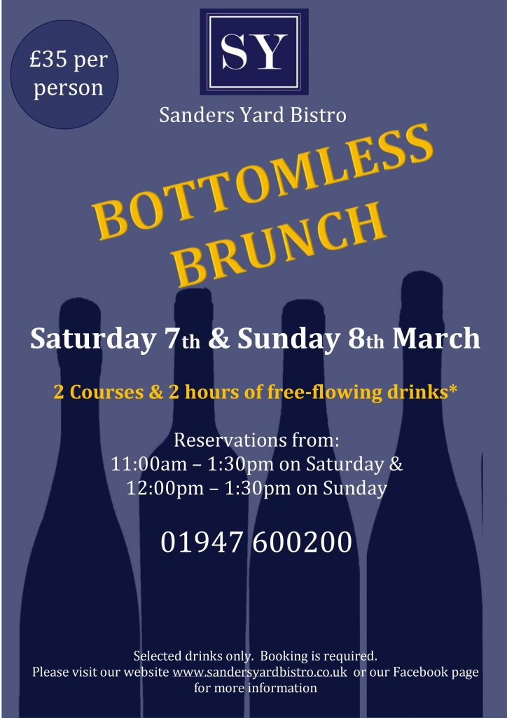 Bottomless Brunch Poster